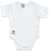 Pippi Unisex Baby Short Sleeve with Buttons O.Shoulder Bodysuit
