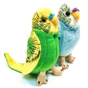 13cm Budgerigar Soft Toy