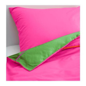 STICKAT - Quilt Cover And Pillowcase, Pink, Green