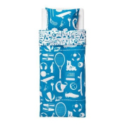 TALANGFULL - Quilt Cover And Pillowcase, Blue