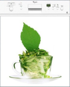 Dishwasher Magnet Stickersnews-with Green Leaves 60 x 60 cm Ref 037