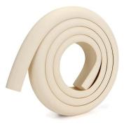 Foxpic Table Edge Corner Cushion Bumper Kid Safety Guard 2m Rubber+Plastic