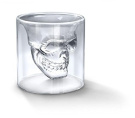 Winrembrandt Crystal Skull Head Shape Vodka Wine Shot Glass Drinking Ware Cup