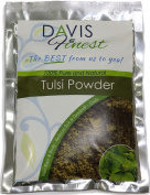 Davis Finest Tulsi (Basil) Powder - 100% Pure & Natural plant powder - leaves scalp cool clean healthy and dandruff free - for skincare and haircare (50g) (100g)
