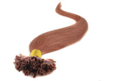 Sexyqueenhair 100g 100 STRANDS Pre Bonded Nail U Tip 100 % Remy Human Straight Hair Extensions 46cm Colour #30