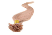 Sexyqueenhair 100g 100 STRANDS Pre Bonded Nail U Tip 100 % Remy Human Straight Hair Extensions 60cm Colour #27