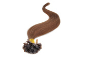 Sexyqueenhair 100g 100 STRANDS Pre Bonded Nail U Tip 100 % Remy Human Straight Hair Extensions 60cm Colour #6