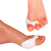 Footmatters Advanced Silicone Soft Gel Bunion Toe Seperator