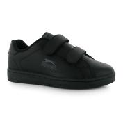 Slazenger Kids Ash Vel Trainers Childrens Velcro Casual Sports Shoes Footwear