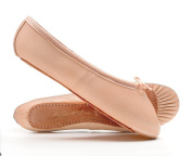 Pink Leather Full Sole Dance Ballet Shoes Childs Adults Girls Ladies All Sizes From Katz Dancewear