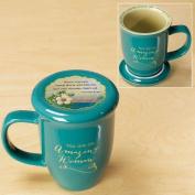 Amazing Woman Mug and Coaster Set