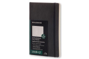 Moleskine Weekly Notebook, 18m, Large, Black, Soft Cover