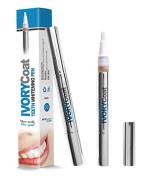 IvoryCoat UK's No1 Advanced Teeth Whitening Pen, Non Peroxide Safe For Zero Gum Irritation