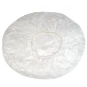 SWT 10X Transparent Disposable Polythene Hair Bath Shower Caps