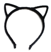 Black Hens Night Party Alice Band Cat Ear Headband Hair Women Hair Accessories Design Party Felt Wire