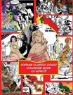 Vintage Classic Comic Colouring Book for Adults
