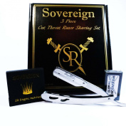 SHAVING 3 PEICE CUTTHROAT RAZOR GIFT SET.