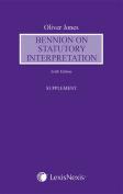 Bennion on Statutory Interpretation Supplement