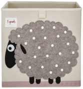 3 Sprouts Sheep Storage Box, Beige