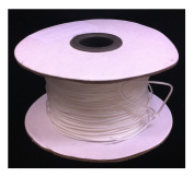 90m 0.9mm White Window Blind Cord, String - Honeycomb & Cell Shades Blinds