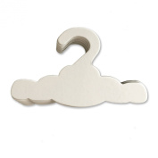 Eco-friendly Closet Hangers for Baby, Cloud Shaped, Set of 12