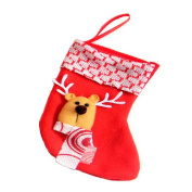 HSL Christmas Ornaments Xmas Socks Kid Gift Stockings Bag Christmas Tree Decoration