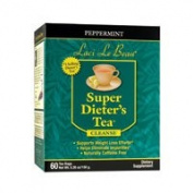 Natrol Laci Le Beau Super Dieters Tea, Peppermint 60 Bags