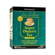 Natrol Laci Le Beau Super Dieters Tea, Peppermint 60 Bags