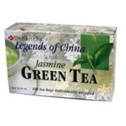Uncle Lees Teas Legends Of China Green Tea, Jasmine, 100 Bag