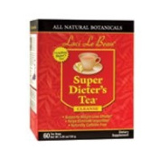Natrol Laci Le Beau Super Dieters Tea, Original Herb 60 Bags