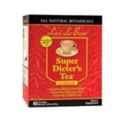 Natrol Laci Le Beau Super Dieters Tea, Original Herb 60 Bags