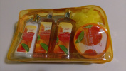 Bath and Body Work Set with Citrus and Mango Paradise Scent