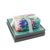 Mudlark Handcrafted Soap Bar and Dish Gift Set, Malay/Lita