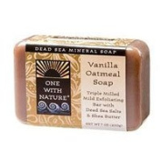 One with Nature Almond Bar Soap, Vanilla Oatmeal, 210ml
