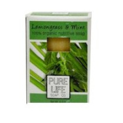 Pure Life Soap Co Bar Soap, Lemongrass and Mint 130ml