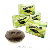 3 Pack Tropical Naturals Dudu-Osun Black Soap Pure Natural Ingredients 150ml US Ship