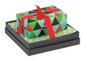 Mudlark Handcrafted Soap Bar and Dish Gift Set, Malay/Winter Grove