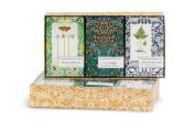 Mudlark Trio Handcrafted Soap Bar Set, Gardener's Collection