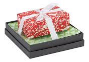 Mudlark Handcrafted Soap Bar and Dish Gift Set, Malay/Winter Song