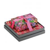Mudlark Handcrafted Soap Bar and Dish Gift Set, Malay/Moonflowers