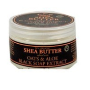 Nubian Heritage Shea Butter, African Black Soap 120ml
