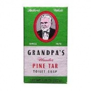 Grandpa's Brands Company Pine Tar Soap, Bath Size 130ml