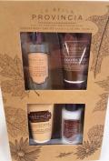 La Bella Provincia Coconut Lime Body Care Gift set Italian Inspired Body Collection