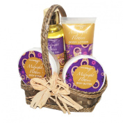 Midnight Flowers Spa Gift Basket