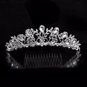 BelleSha Queen Sophia Tiara - wedding bridal prom birthday pageant headpiece