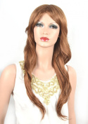 Coolsky Wig Sexy Long Curly Blond Woman Hair Cosplay Wigs Costume Wigs