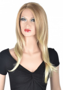 Coolsky Wig Charming Long Blond Curly Woman Wigs