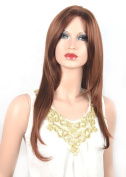 Coolsky Wig Classical Brown Long Curly Woman Wigs