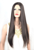 Coolsky Wig Classical Long Straight Brown Woman Wigs