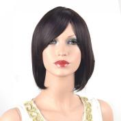 Coolsky Wig ClassicalMedium Black Woman Straight Wigs